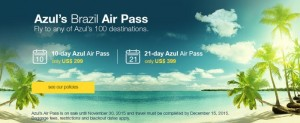Azul's Brazil Air Pass